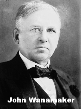 John Wanamaker's photograph from Wikipedia